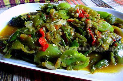 Resep Ikan Kembung Goreng Bumbu Tomat Hijau /Resep Masakan Indonesia
