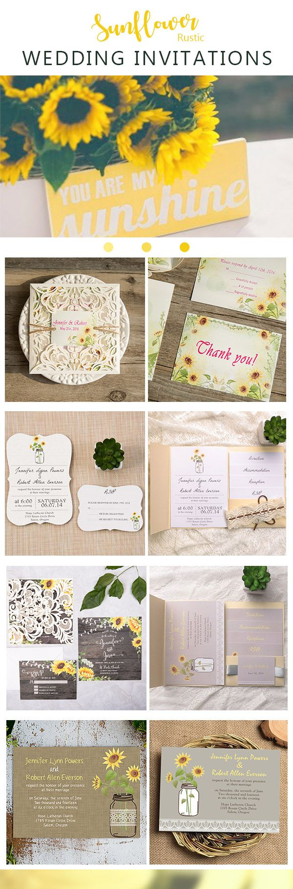 bridal shower invitations vector free%0A Rustic watercolor yellow sunflower barn wood wedding invitation EWDK    as  low as
