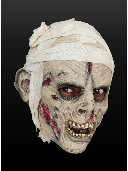 """https://11ter11ter.de/47134969.html Latexmaske """"Mumie mit Kopfverband"""" für Kinder #11ter11ter #maske #kinder #fasching #halloween #kostüm #outfit #mask"""