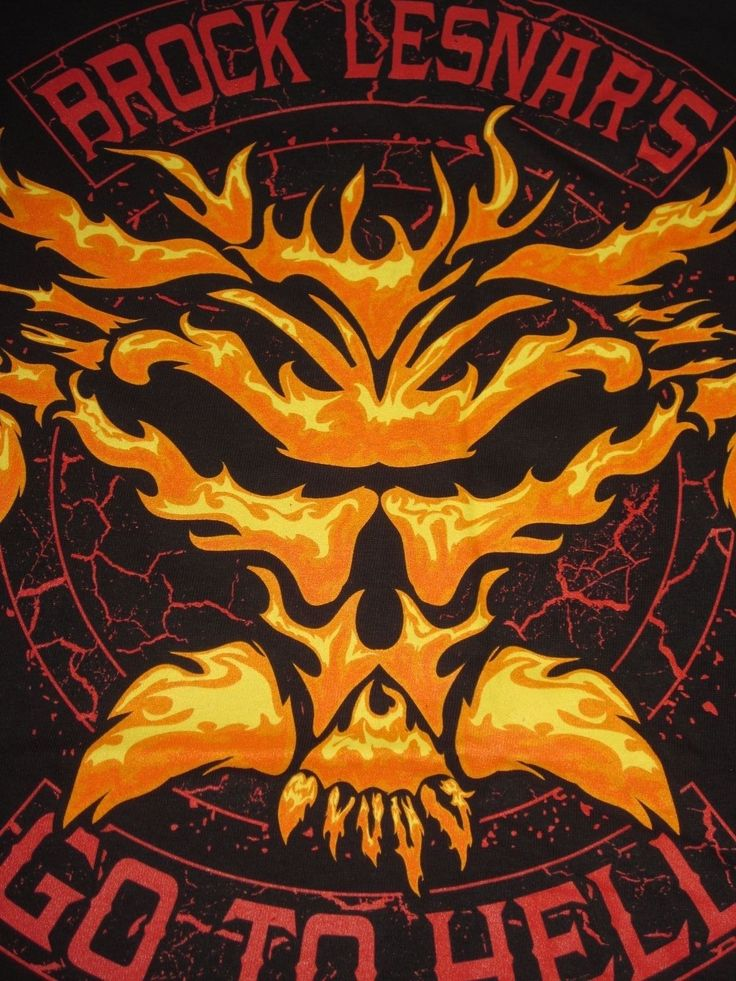 WWE Brock Lesnar's Go To Hell Tour Adult XL T-Shirt - Brand New - WWF WCW TNA - http://bestsellerlist.co.uk/wwe-brock-lesnars-go-to-hell-tour-adult-xl-t-shirt-brand-new-wwf-wcw-tna/