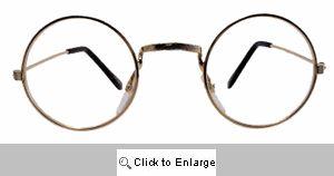 Lennon Metal Clear Lens Glasses - 555