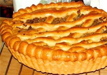 Рецепт-Постный пирог с капустой   Постные блюда