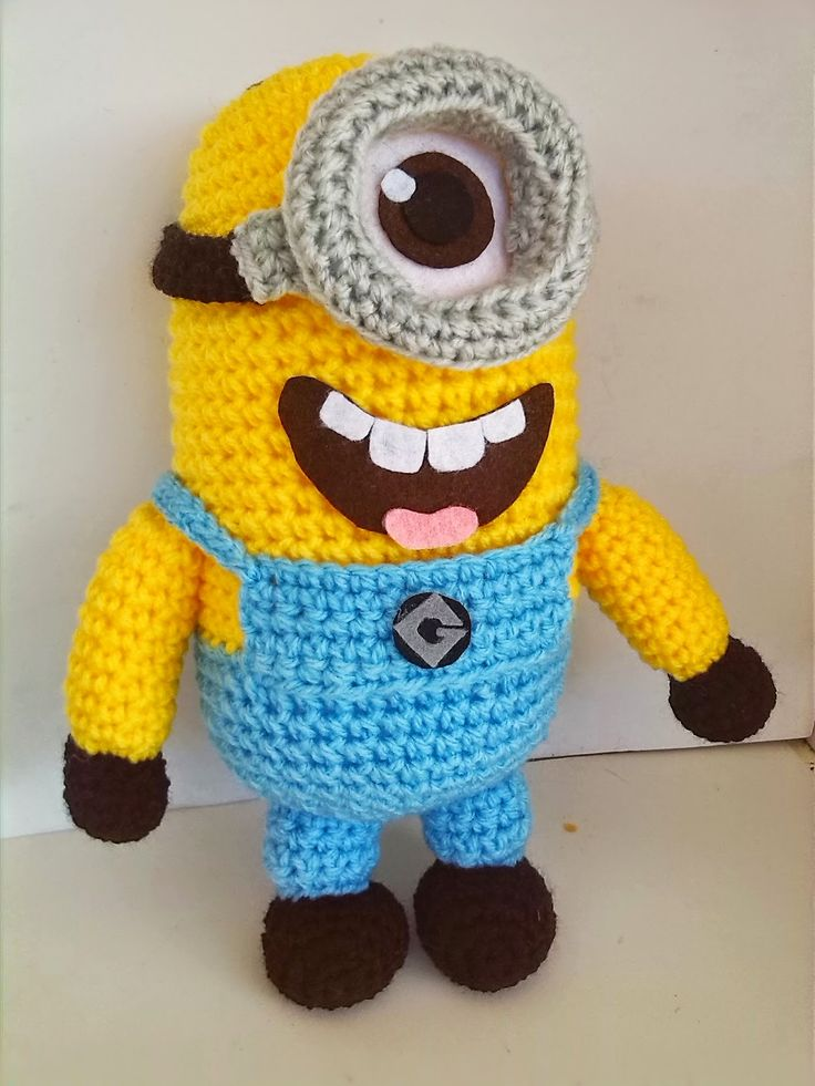 60 best images about Amigurumis: minions y amigos on ...