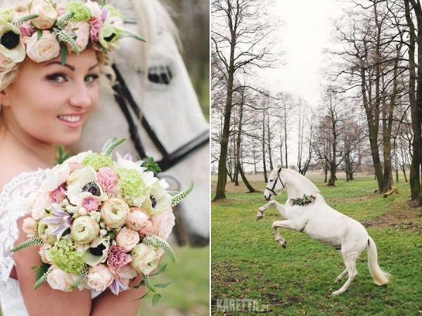 Pastelowa lekkość w stylizacjach ślubnych - Ślub Na Głowie
