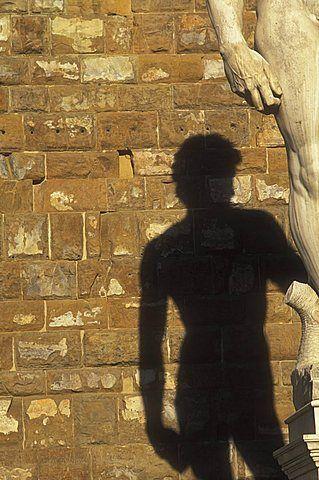Estatua del David de Miguel Ángel, Plaza de la Signoria, Florencia, Toscana, Italia, Europa