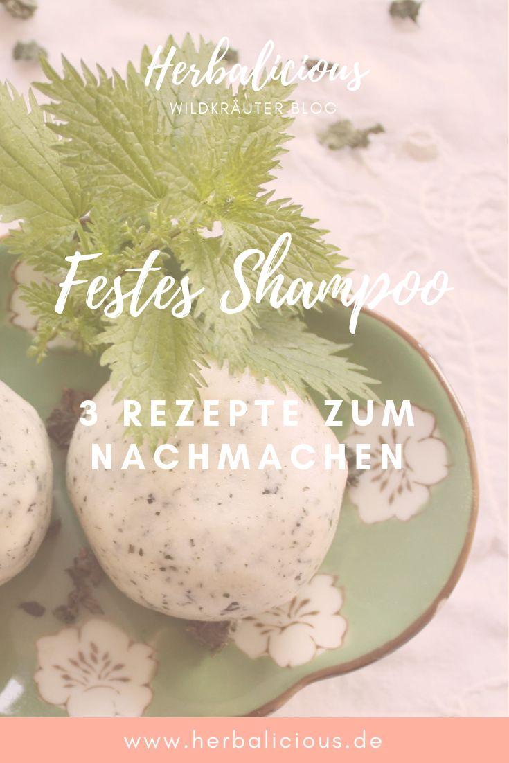 Machen Sie sich ein festes Shampoo – so funktioniert es – Luna Herbs Blogartikel