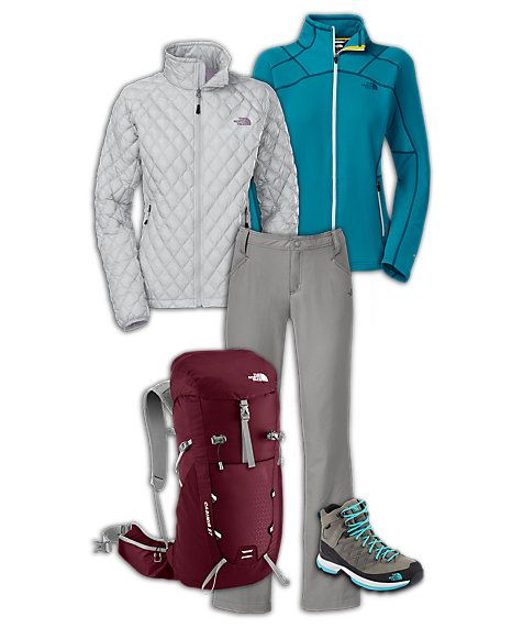 The North Faceu00ae Womenu0026#39;s Hiking Outfit | Hiking | Pinterest