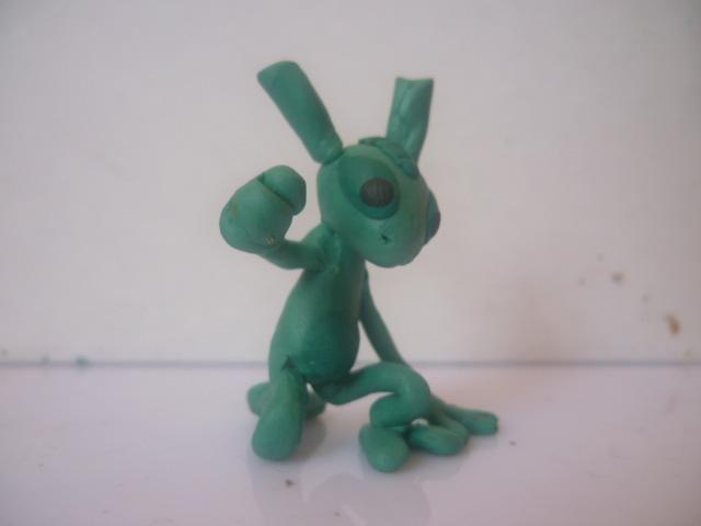Фигурка Ида из пластилина. Автор: Wario
