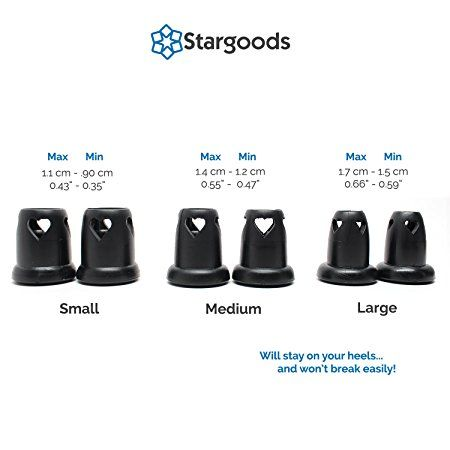 Amazon.com: Stargoods Heart Shaped High Heel Protectors for walking on grass ,sand etc.  Shoes, Black - All sizes: $13. ( f3 pairs in the sack)
