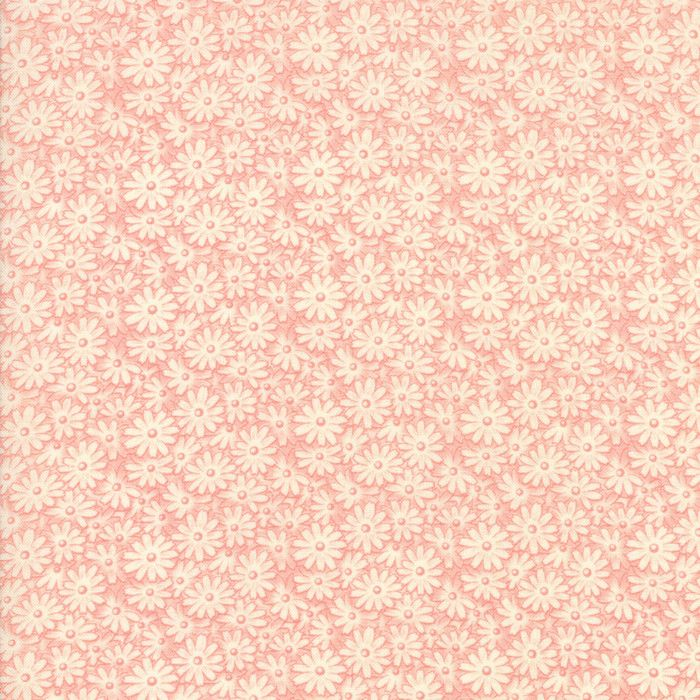 """""""Pink""""-Floral Kids Posy Patch Pink 30's Playtime 2017 by Chloe's Closet for Moda"""