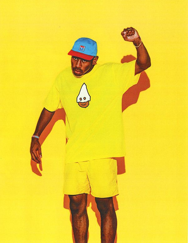 Tyler, The Creator's latest lookbook sets new standards for heatwave wears.
