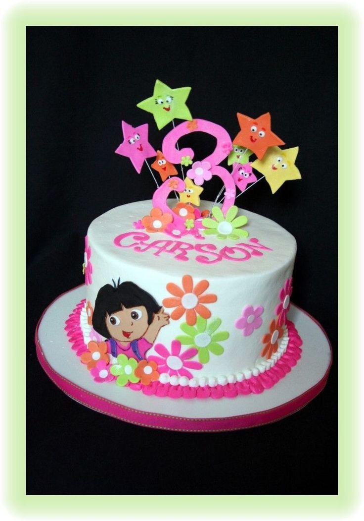 Dora The Explorer Tt 3rd Birthday Pinterest Cake