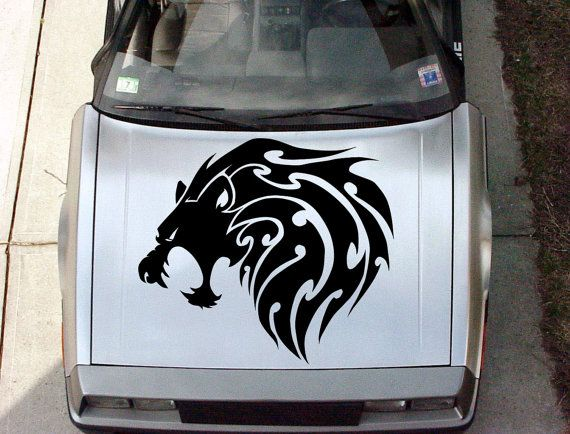 Best Vinyl Sticker For Auto Images On Pinterest - Custom vinyl decals for car hoodsowl full color graphics adhesive vinyl sticker fit any car hood