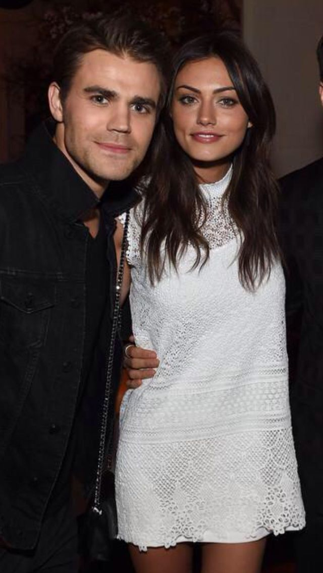 Paul wesley and Phoebe tonkin 15-05-2015