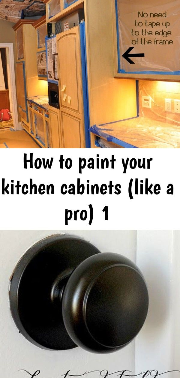 How To Paint Your Kitchen Cabinets Like A Pro 1