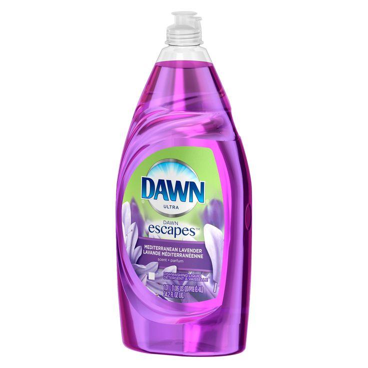 Dawn Escapes Mediterranean Lavender Dishwashing Liquid 34.2 Oz