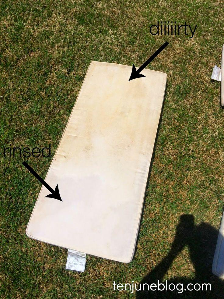 How to Clean Outdoor Patio Cushions | Ten June