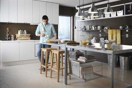 IKEA vrijstaande keukens | Inrichting-huis.com