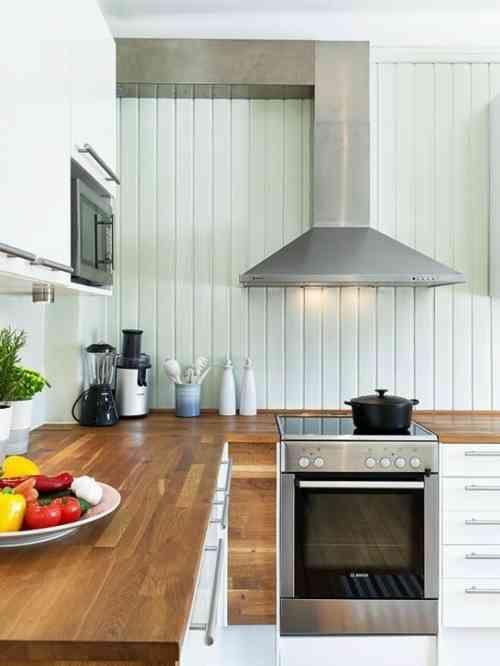 décoration de cuisine avec comptoir