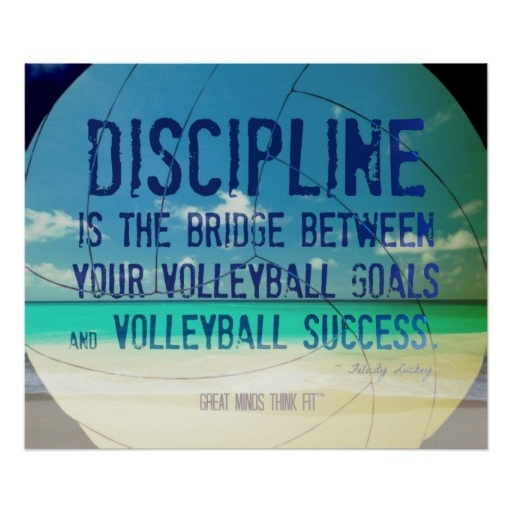 Beach #Volleyball Poster 002 for Motivation