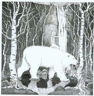 Valemon and Princess Hilde Kramer - polar bear princess