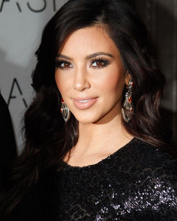 Kim Kardashian Eye Makeup Tutorial #KimKardashian #EyeMakeup #SmokeyEyes