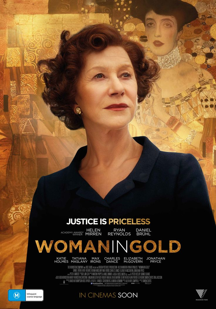 "ad for 2015 film, ""Woman in Gold"" - Google Search"
