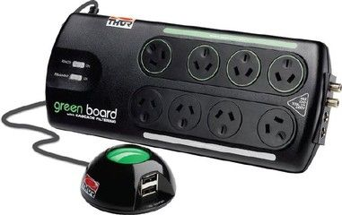 Thor Green Board Power Filter | The Listening Post Christchurch and Wellington |