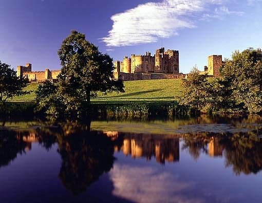 The fantastic 11th century Alnwick Castle is licensed for civil ceremonies and is also home to the Duke & Duchess of Northumberland. This beautiful venue may also be familiar to Harry Potter fans as the very first  movie was shot here!