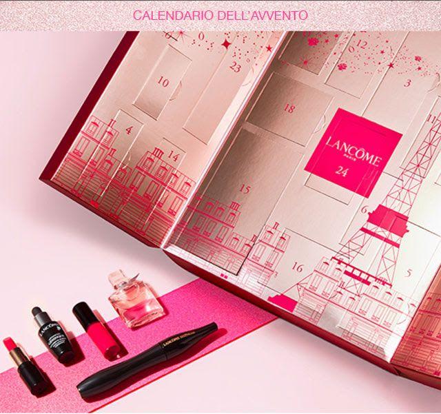 Calendario Dellavvento Beauty 2020.Armocromia Make Up Lancome Calendario Dell Avvento 2018