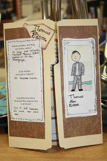 Yr 4 history idea - report on explorer or convict