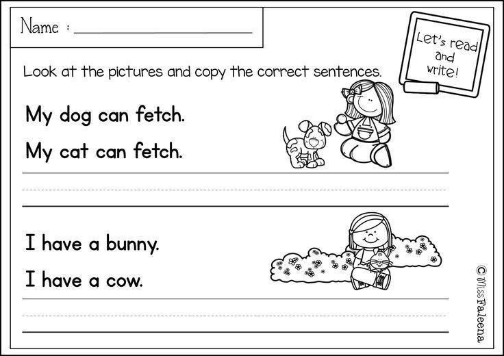 Free Sentence Writing Sentence writing, Writing skills