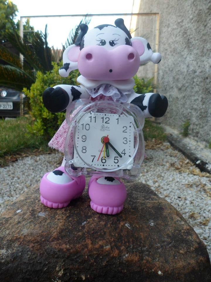 clock cow