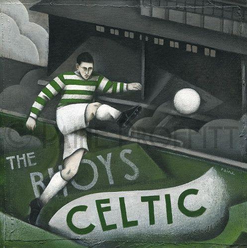 Celtic FC - Celtic at Celtic Park Limited edition Print by ...