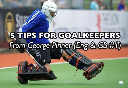 Want some field hockey goalkeeper tips from England & GB Goalkeeper George Pinner? Make sure you check out his TOP 5 tips for field hockey goalies
