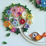 Quilling Sanatı Örnekleri 36