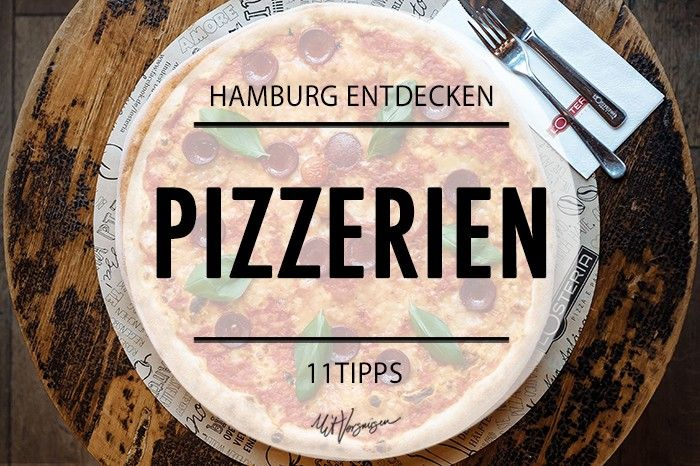 Hamburg's best pizza places (in German)