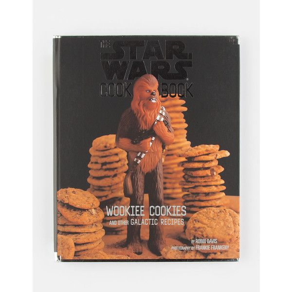 The Star Wars Cookbook ($19) ❤ liked on Polyvore featuring home, kitchen & dining, cookbooks, star wars cookbook and healthy cookbooks