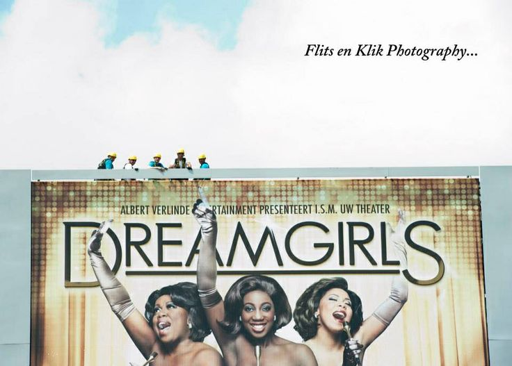 Musical Dreamgirls persmoment