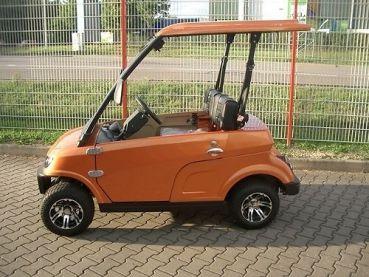 Beckers Golf Cart Handel -   - Ligier - Yamaha - WSM Mitsubishi - E-Z-GO - Club Car - WSM Mitsubishi MT1220 nach StVZO NEUFAHRZEUG Elektrofahrzeug