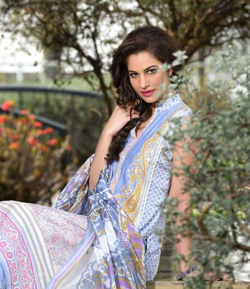 Gohar Embroidered Lawn Suits Collection G_04