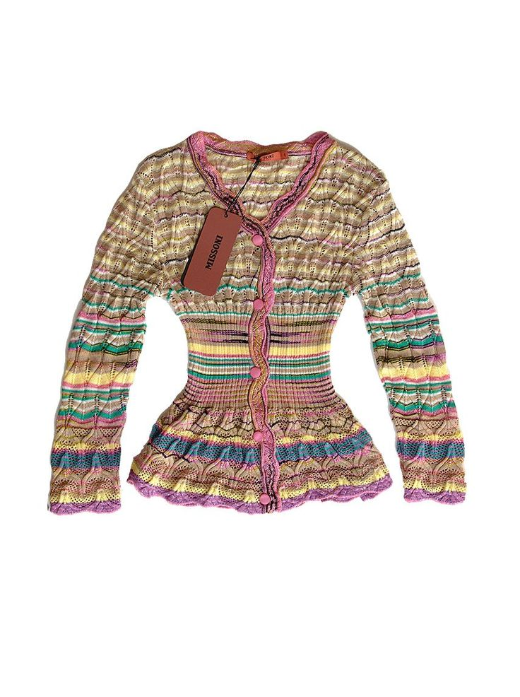 I have always wanted a piece of Missoni...someday!