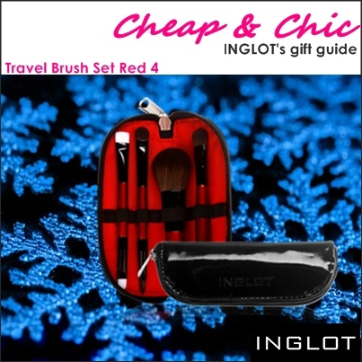 Travel Brush set Red 4