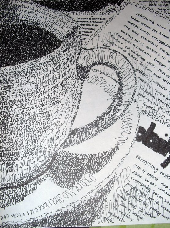 Using words to create an image :)