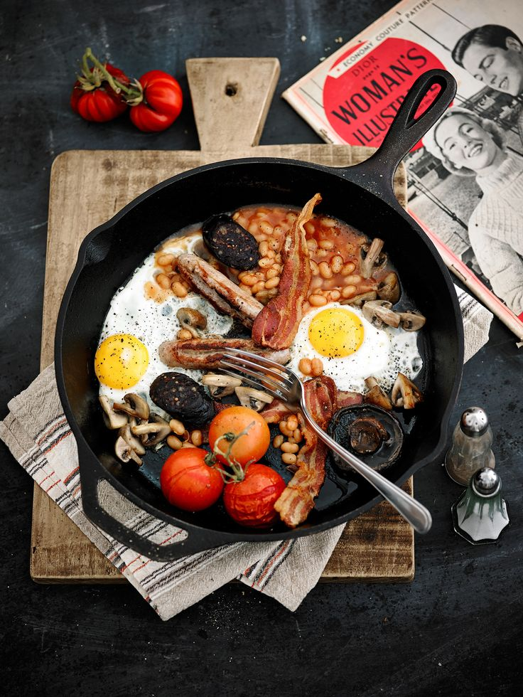 Cast iron pans are a kitchen staple great for one pan breakfast