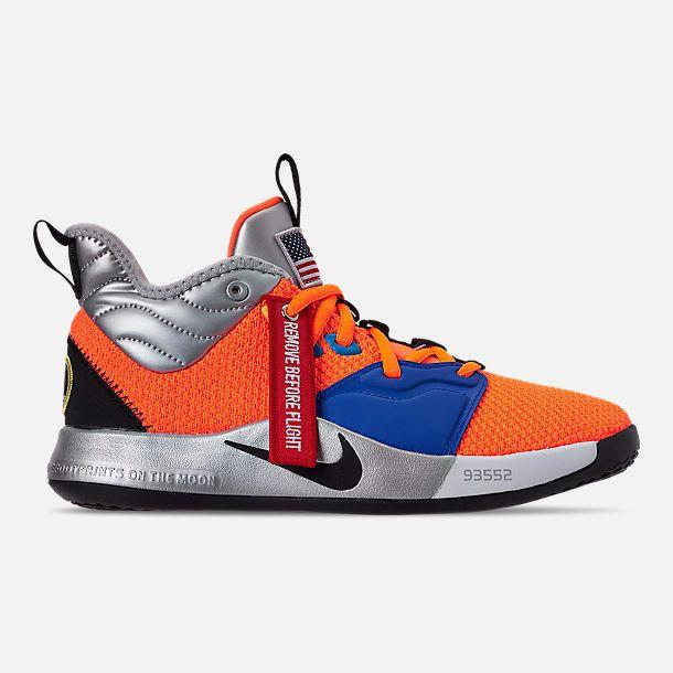 Kids' Nike PG 3 x NASA Basketball Shoes