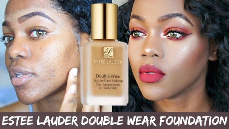 Estee Lauder Double Wear Foundation Review on oily skin | Luchi Loyale