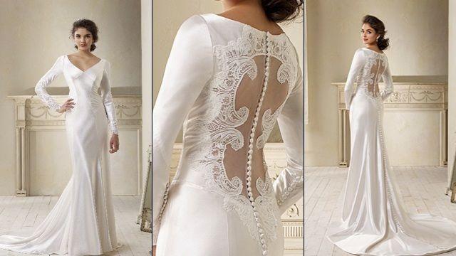 L'abito da sposa indossato da Bella Swan durante il suo matrimonio con il tenebroso Edward Cullen è stato realizzato dalla bravissima stilista Carolina Herrera.