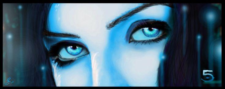 Cortana (Halo 5 Concept) by NightwolfArt.deviantart.com on @deviantART