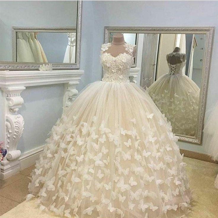 Best 20+ Butterfly Wedding Dress Ideas On Pinterest